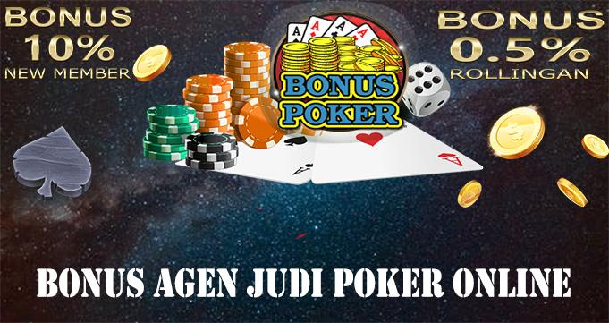 Bonus Agen Judi Poker Online